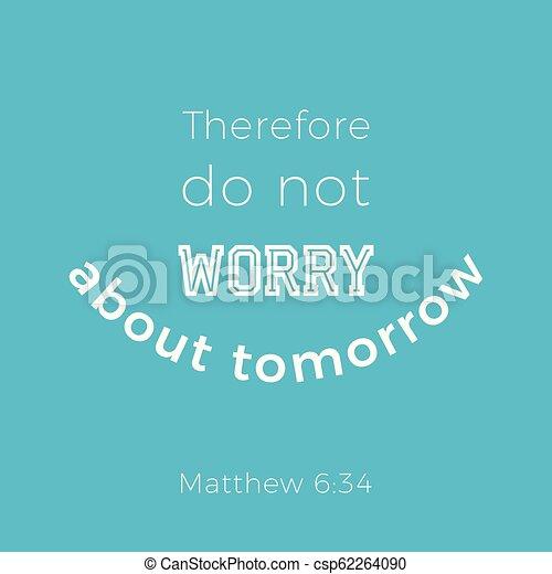 Biblical phrase from matthew gospel 6 - csp62264090