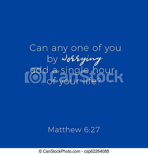 Biblical phrase from matthew gospel 6 - csp62264088