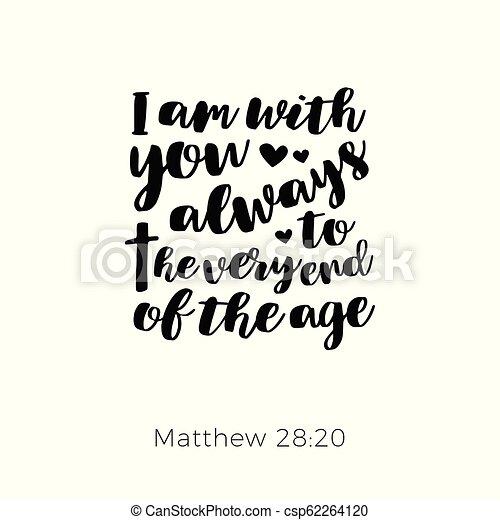 Biblical phrase from matthew gospel - csp62264120