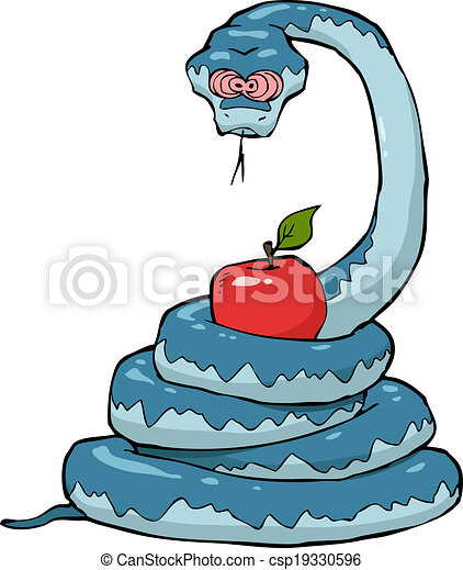 Biblical serpent - csp19330596