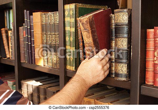 biblioteca, histórico - csp2555376