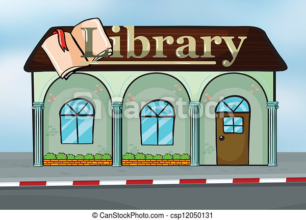 Una biblioteca - csp12050131