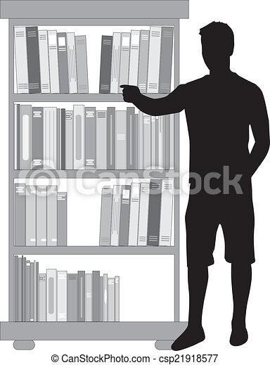 bibliotheek - csp21918577