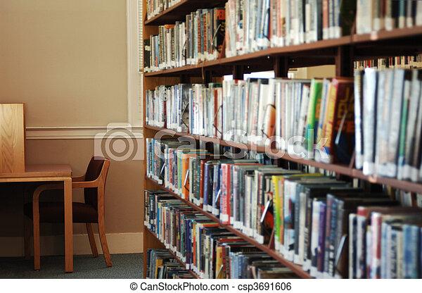 bibliotheek - csp3691606