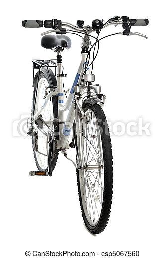 bicicleta, aislado - csp5067560