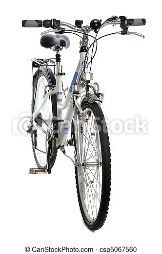 bicicleta, isolado - csp5067560