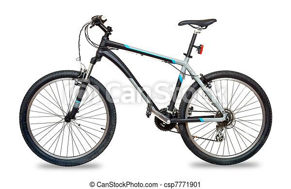 bicicleta montanha, bicicleta - csp7771901