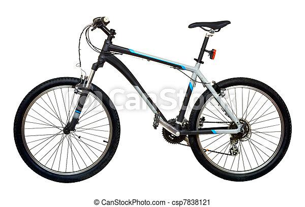 bicicleta montanha, bicicleta - csp7838121