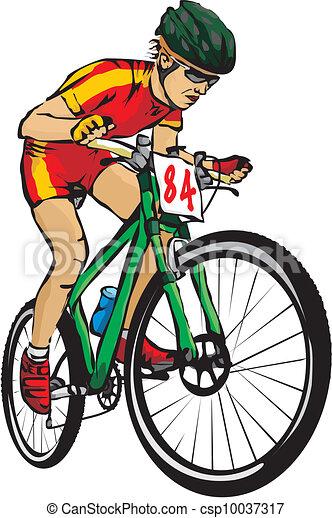 bicicleta montanha fora estrada ciclismo
