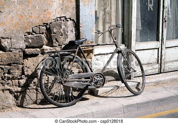 bicicleta, retro - csp0128018