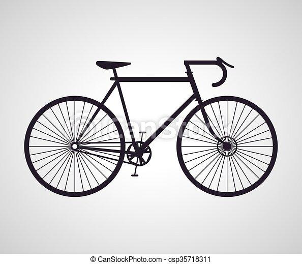 Bicicletta Corre Disegno
