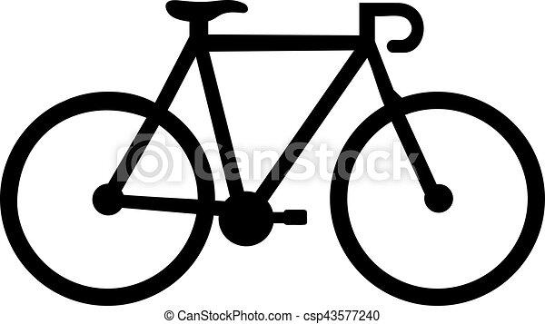 Bicicletta Correndo Icona
