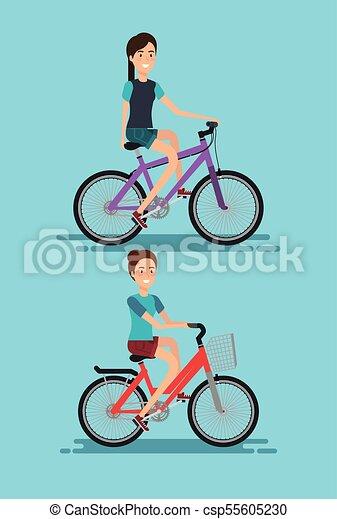 Bicicletta Giovani Donne