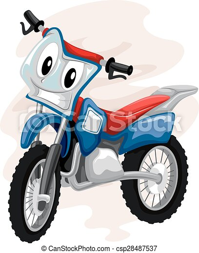 Bicicletta Motocross Mascotte