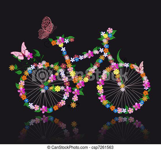 bicikli, menstruáció - csp7261563