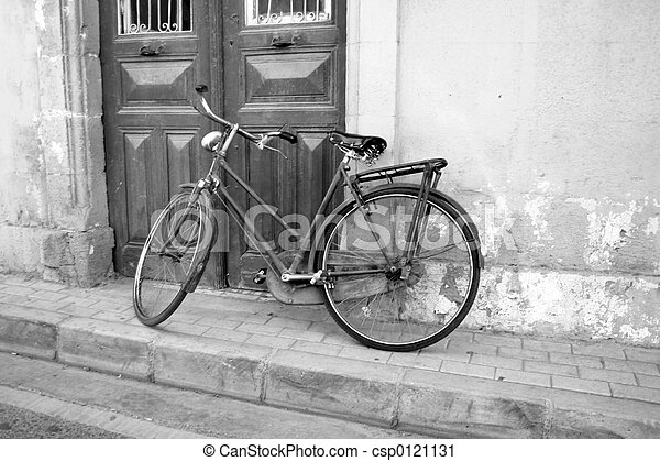 bicikli, retro - csp0121131