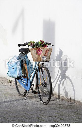 bicikli, retro - csp30492878