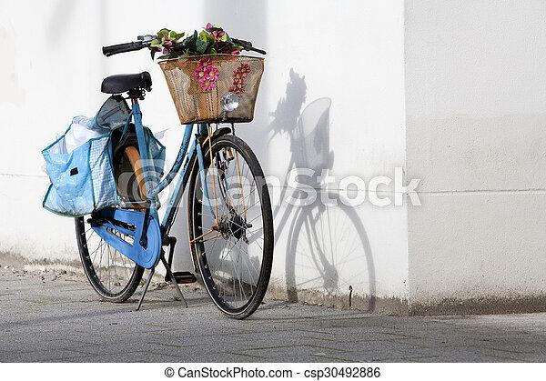 bicikli, retro - csp30492886