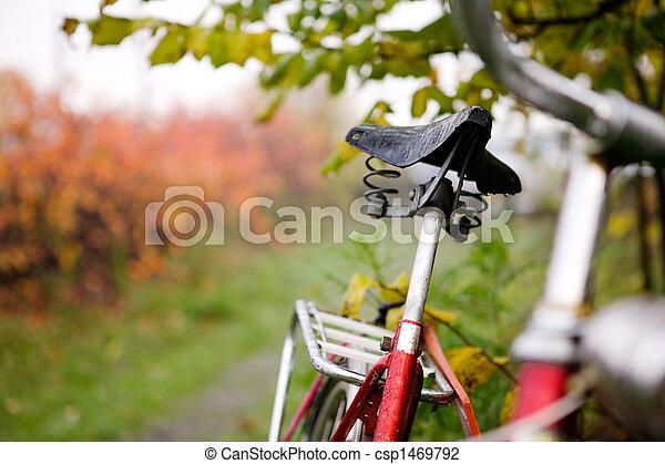 bicikli, retro, részletez - csp1469792
