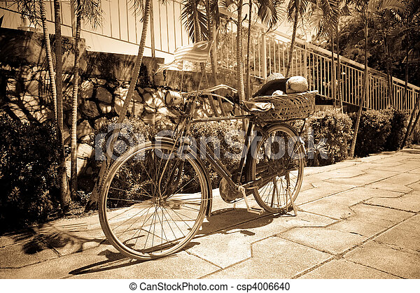 bicikli, retro - csp4006640
