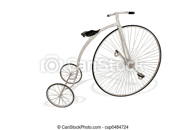 bicikli, retro - csp0484724