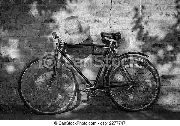 bicikli, retro - csp12277747