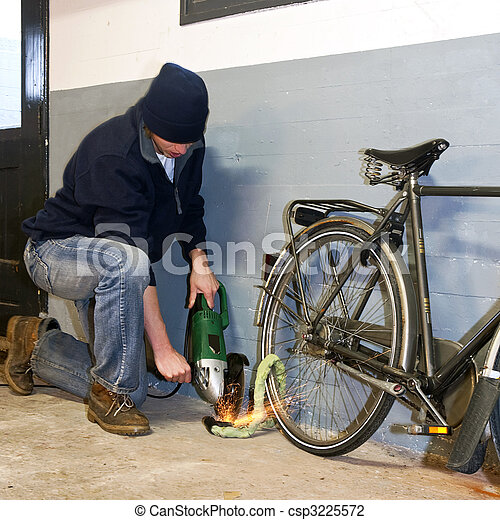 bicikli, tolvaj - csp3225572