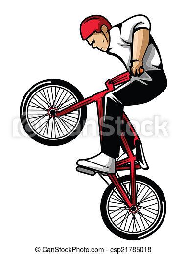 biciklista, extrém - csp21785018