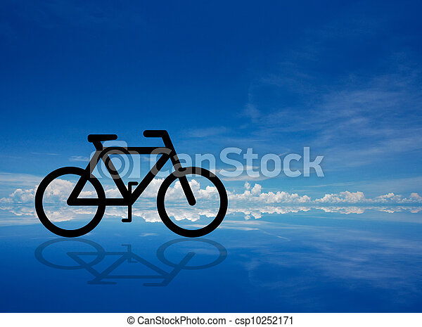 bicycle abstract - csp10252171