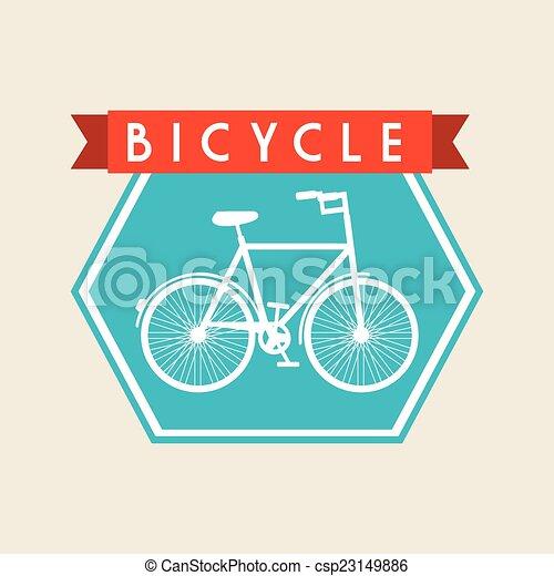 bicycle design - csp23149886