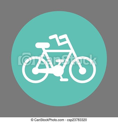 bicycle design - csp23783320