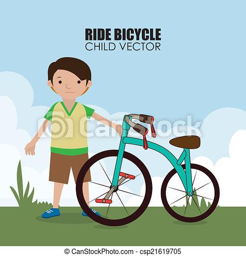 Bicycle design  - csp21619705
