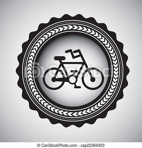 bicycle design - csp22364303