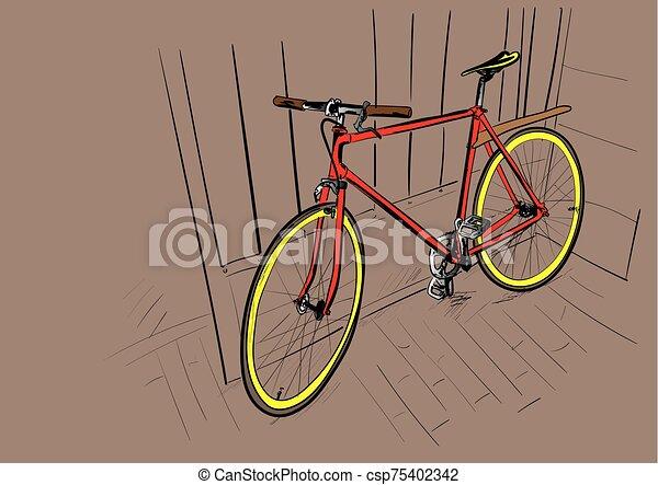 bicycle - csp75402342