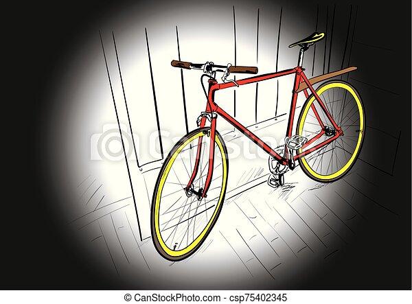 bicycle - csp75402345