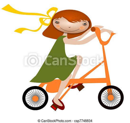 bicycle - csp7748834
