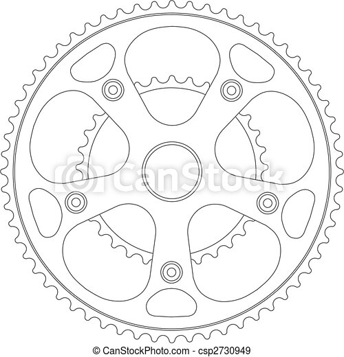 Bicycle gear - csp2730949