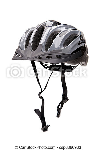 Bicycle Helmet With Straps - csp8360983