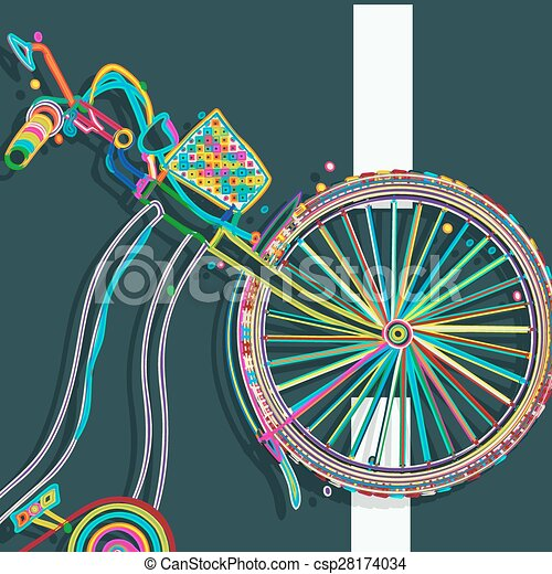 Bicycle icon - csp28174034