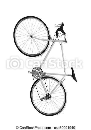Bicycle isolated on white - csp60091940