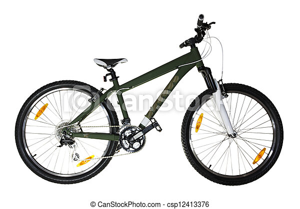 Bicycle (isolated) - csp12413376