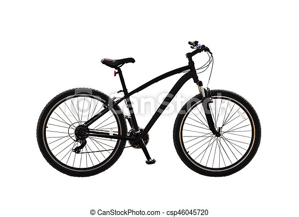 Bicycle isolated - csp46045720