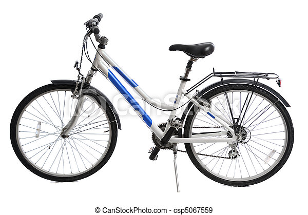 bicycle isolated - csp5067559
