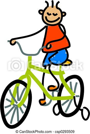 bicycle kid - csp0293509