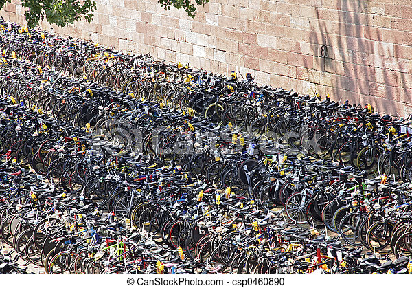 Bicycle Parking Lot - csp0460890