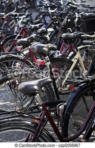Bicycle parking - csp5056967
