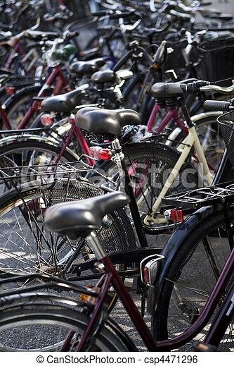 Bicycle parking - csp4471296