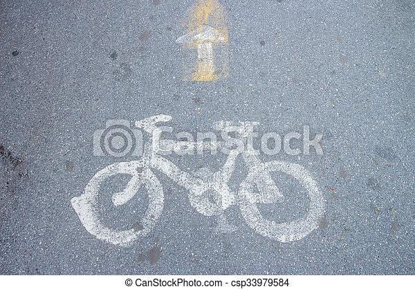 bicycle path - csp33979584