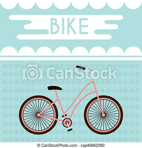 Bicycle Promotional Banner - csp40662390