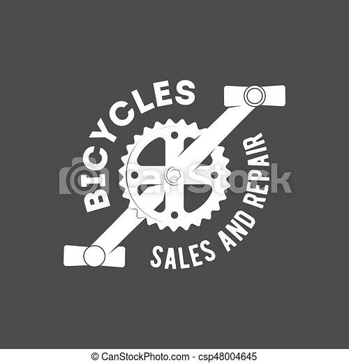 bicycle retro badge - csp48004645